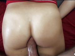 Angel gives good oral-stimulation job previous to getting soaked holes licked well