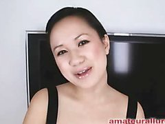 Carmina is a glamorous Twenty year old Oriental student, with a cute little body and an bizarre craving for rod. It appears that Carmina has sucked off about 50 guys! That's a large number for someone still in college. This Hottie is likewise blessed with not having a gag reflex so that playgirl is able to take a pecker down her mouth out of an issue. Amazing! After that playgirl deep face holes my dick numerous times, I bow her over and fuck her taut little bald fur pie. This Hottie desires my load in her mouth, so shen acquires on her knees and recieves my full cum shot into her mouth and swallows it down. This Hottie is a awesome shlong sucker and a great fucking lay.