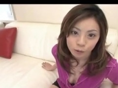 Gorgeous Natsumi getting straight into the action after enjoying slit licking by engulfing shlong like mad. Watch her riding dick like a mad woman!